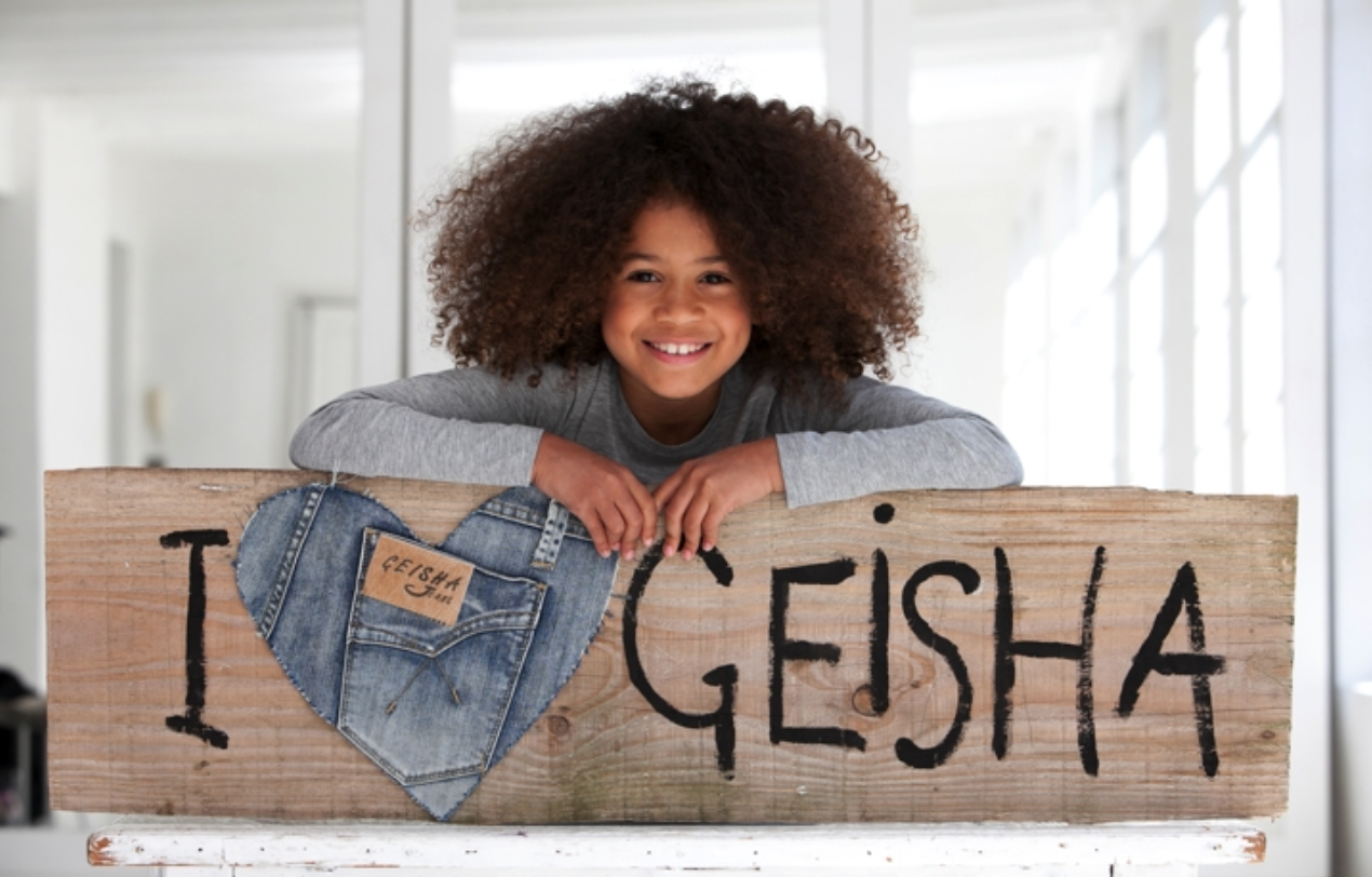 Geisha Kinderkleding.Om Van Te Houden Geisha Kinderkleding
