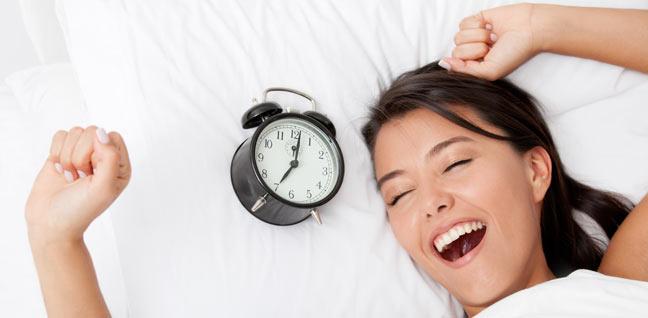 Slaaptips; mooi wakker worden!